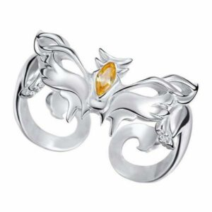 Dragon Ring Wildcat Sterling Silver