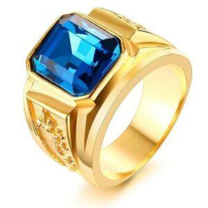 Dragon Ring Zirconium Stainless Steel