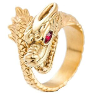 Dragon Ring Golden Treasure