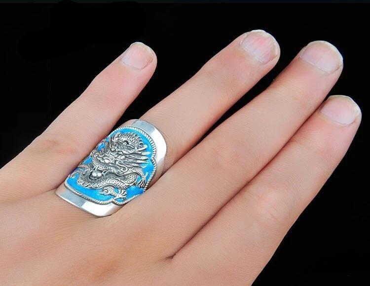 the dragon blue ring