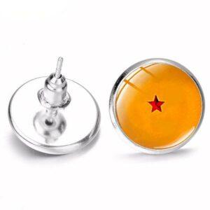 Dragon Earrings Dragon Ball Crystals 10gr
