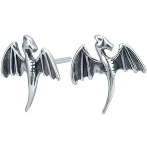 Dragon Earrings Stainless Steel Chip
