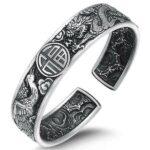 Dragon Bracelet Lucky Man Sterling Silver