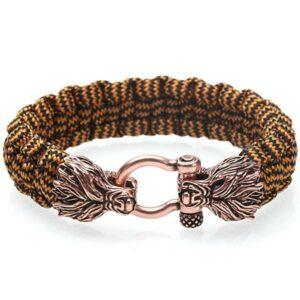 Dragon Bracelet Braided Rope Man
