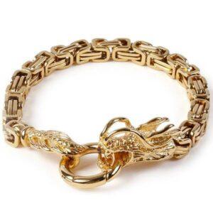 Dragon Bracelet Ring of the Monster Steel