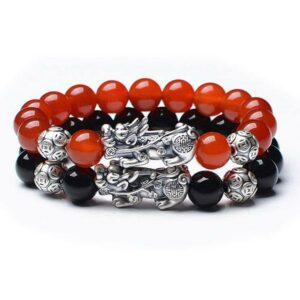 Dragon Bracelet Good Fortune 999 Silver