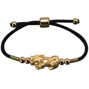 Dragon Bracelet of Luck Silver Sterling 999