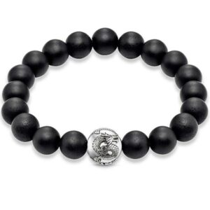 Dragon Bracelet Black Onyx 7gr