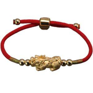 Dragon Bracelet Adjustable Pixiu Silver Sterling