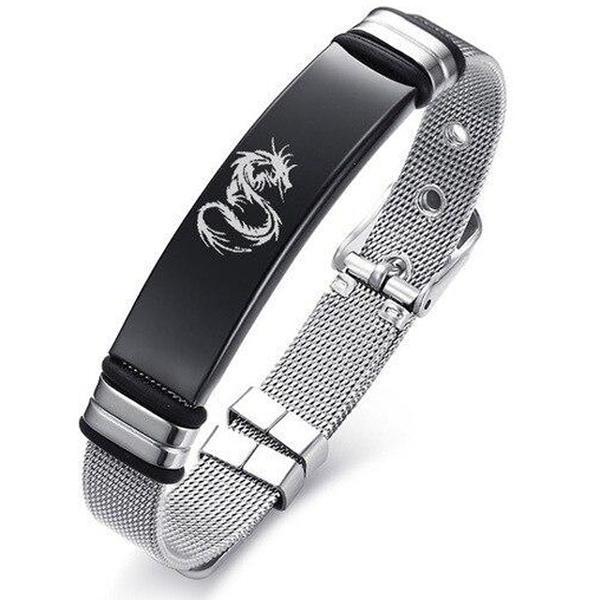 Dragon Bracelet Belt Shaped Steel