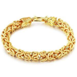 Dragon Bracelet Fantasy 18K Gold Plated