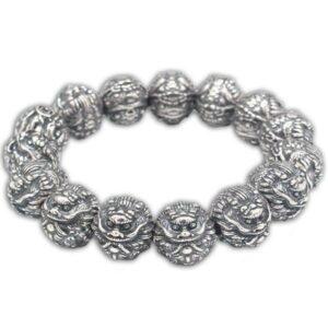 Dragon Bracelet Feng Shui (Silver)
