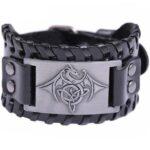 Dragon Bracelet Lucky Charm For Men Leather