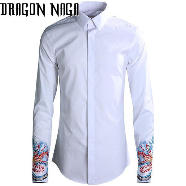 Chemise avec des dragons