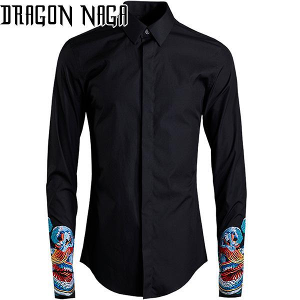 Dragon Haori Nobless Black