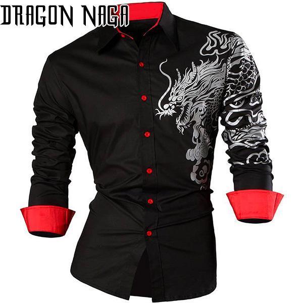 Dragon Haori Conqueror Black and Red
