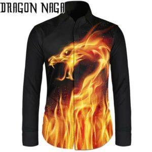 Dragon Haori Flame Outfit