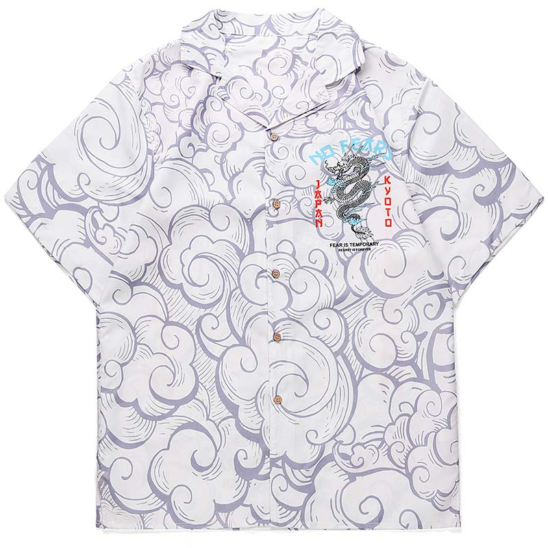 Dragon Haori Cloud Pattern