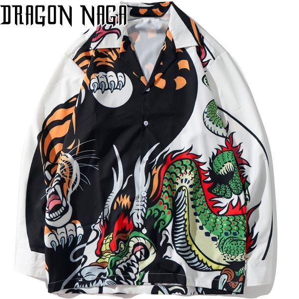 Dragon Haori Tiger Fight