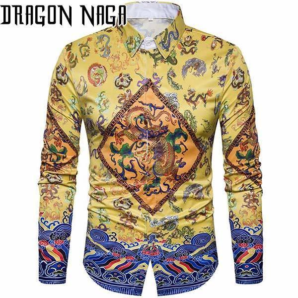 Dragon Haori For Men Soft Cotton