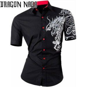 Dragon Haori Short Sleeve Cool Style
