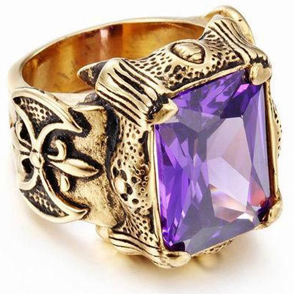 Dragon Ring Vintage Signet For Men