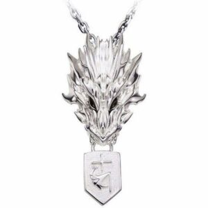 Dragon Necklace Bleach Skull Sterling Silver
