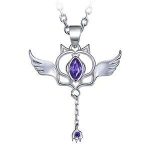 Dragon Necklace Cat Zircon Stone Sterling Silver