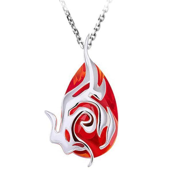 Dragon Necklace Ardent Blade Swarovski Elements