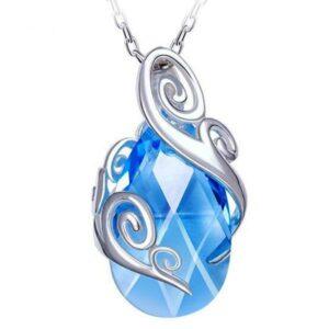 Dragon Necklace Frozen Tear Steel