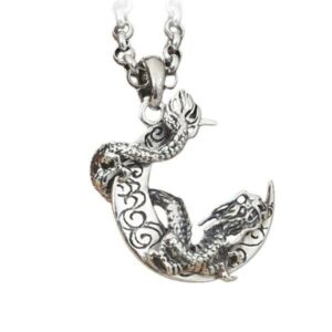Dragon Necklace Moonlight Sterling Silver 925