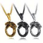 ouroboros reborn dragon necklace