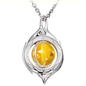 Dragon Necklace Incandescent Pearl 925 Silver