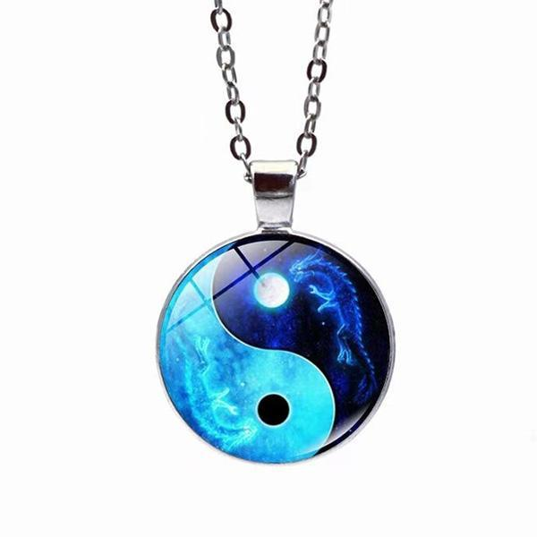 Dragon Necklace Tai Chi Zinc