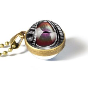 Dragon Necklace Dragon Eye Zinc Alloy