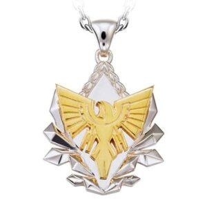 Dragon Necklace Golden Phoenix Sterling Silver