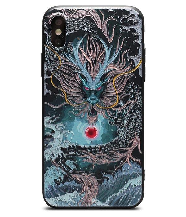 Dragon Phone Case Sea God