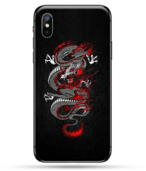 Dragon IPhone Case Red Japanese God