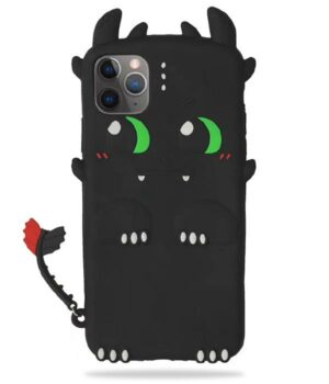 Dragon IPhone Case Toothless Black