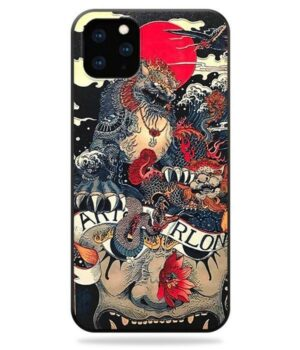 Dragon IPhone Case Imperial Lion
