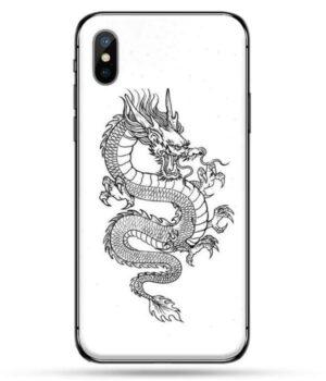 Dragon IPhone Case White Fate