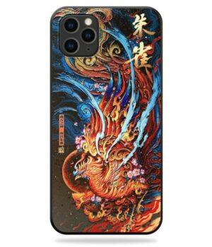 Dragon IPhone Case Phoenix Chinese Art