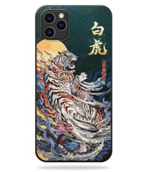 Dragon IPhone Case Tiger Art Silicon