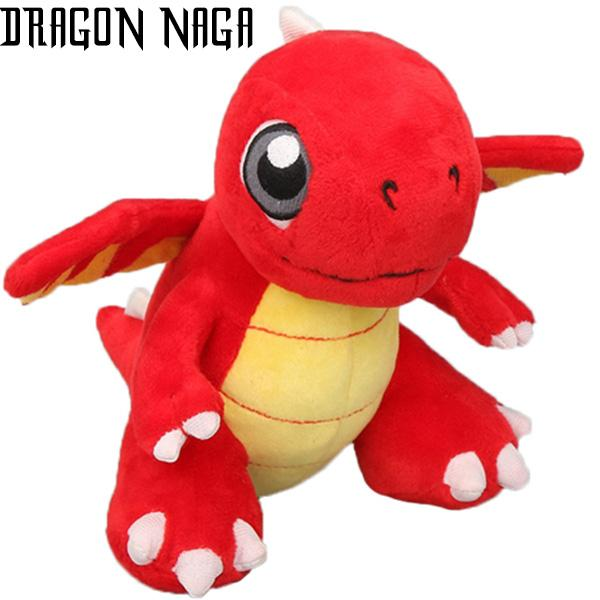 Dragon Plush Red Wings Cotton