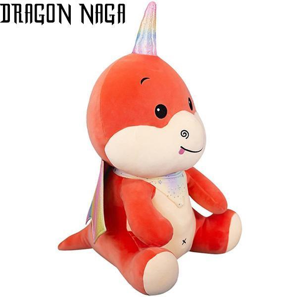 Dragon Plush Horn Cotton