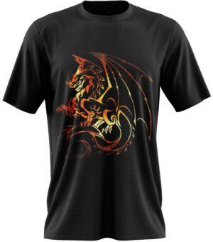 Dragon Tshirt Logo Dark