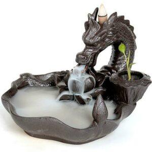 Japanese Dragon Backflow Incense Burner