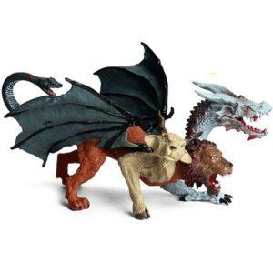 Dragon Figure Chimera Statue