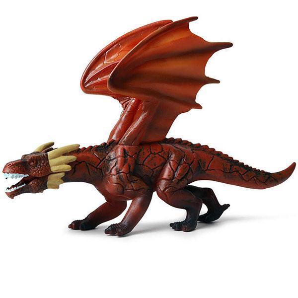 Dragon Figure Scarlet PVC Statue