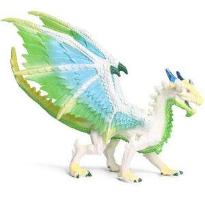 Dragon Figure White Statue PVC